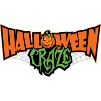 Halloween craze shirt light-colored apparel iron on stickers 2