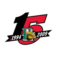 Halifax Mooseheads 2008 09 Anniversary Logo Light Iron-on Stickers (Heat Transfers)
