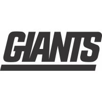 New York Giants Alternate Logo  Light Iron-on Stickers (Heat Transfers) version 1