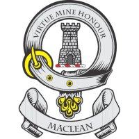 Maclean Clan Badge Light Iron On Stickers (Heat Transfers)