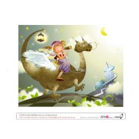 Magic World Light Iron On Stickers (Heat Transfers) version 13