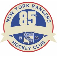 New York Rangers Anniversary Logo  Light Iron-on Stickers (Heat Transfers) version 1
