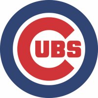 Chicago Cubs Primary Logo  Light Iron-on Stickers (Heat Transfers)