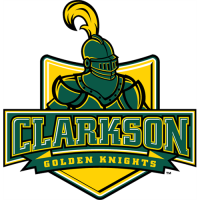 Clarkson Golden Knights 2004-Pres Primary Logo Light Iron-on Stickers (Heat Transfers)