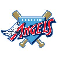 Los Angeles Angels of Anaheim Primary Logo  Light Iron-on Stickers (Heat Transfers)