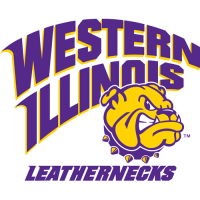 1997-Pres Western Illinois Leathernecks Primary Logo Light Iron-on Stickers (Heat Transfers)