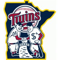 Minnesota Twins Alternate Logo  Light Iron-on Stickers (Heat Transfers) version 2