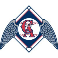 Los Angeles Angels of Anaheim Alternate Logo  Light Iron-on Stickers (Heat Transfers)