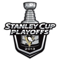 Pittsburgh Penguins Stanley Cup Playoffs Primary Logo 2013 Light Iron-on Stickers (Heat Transfers)