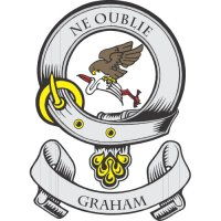 Graham Clan Badge Light Iron On Stickers (Heat Transfers)