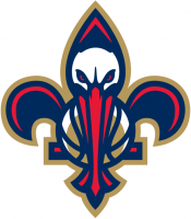 New Orleans Pelicans 2013 14-Pres Alternate Logo Light Iron-on Stickers (Heat Transfers) 4