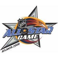 NHL All-Star Game Primary Logo  Light Iron-on Stickers (Heat Transfers)