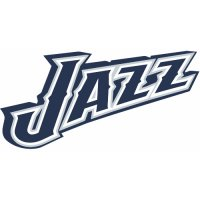 Utah Jazz Script Logo  Light Iron-on Stickers (Heat Transfers)