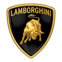 Lamborghini Logo Light Iron On Stickers (Heat Transfers) 1