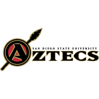 2002-Pres San Diego State Aztecs Wordmark Logo Light Iron-on Stickers (Heat Transfers)