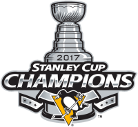 Pittsburgh Penguins 2017 Champion Logo Light Iron-on Stickers (Heat Transfers)