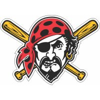 Pittsburgh Pirates Cap Logo  Light Iron-on Stickers (Heat Transfers)