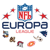 NFL Europa 2007 Alternate Logo Light Iron-on Stickers (Heat Transfers)