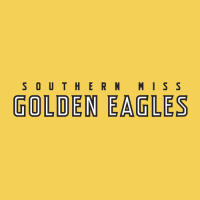 2003-Pres Southern Miss Golden Eagles Wordmark Logo Light Iron-on Stickers (Heat Transfers)