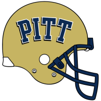 2005-Pres Pittsburgh Panthers Helmet Logo Light Iron-on Stickers (Heat Transfers)