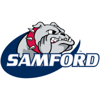 2000-Pres Samford Bulldogs Primary Logo Light Iron-on Stickers (Heat Transfers)
