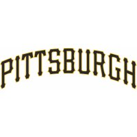 Pittsburgh Pirates Script Logo  Light Iron-on Stickers (Heat Transfers) version 2