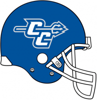CCSU Blue Devils 2012-Pres Helmet Logo Light Iron-on Stickers (Heat Transfers)