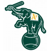 Oakland Athletics Alternate Logo  Light Iron-on Stickers (Heat Transfers)