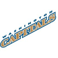 Washington Capitals Script Logo  Light Iron-on Stickers (Heat Transfers)