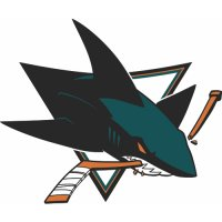 San Jose Sharks Primary Logo  Light Iron-on Stickers (Heat Transfers)