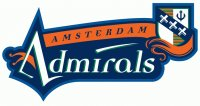 Amsterdam Admirals Primary Logos  Light Iron-on Stickers (Heat Transfers)