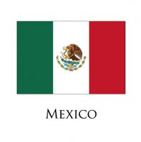 MEXICO Flags light iron ons