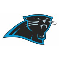 Carolina Panthers Primary Logo  Light Iron-on Stickers (Heat Transfers)
