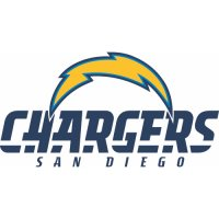 San Diego Chargers Alternate Logo  Light Iron-on Stickers (Heat Transfers) version 2