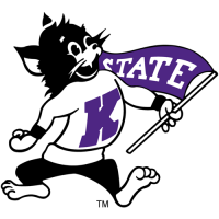 Kansas State Wildcats 1989-Pres Mascot Logo Light Iron-on Stickers (Heat Transfers)
