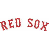 Boston Red Sox Script Logo  Light Iron-on Stickers (Heat Transfers)