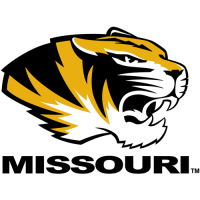 1996-Pres Missouri Tigers Alternate Logo Light Iron-on Stickers (Heat Transfers)
