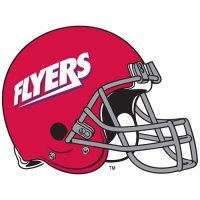 1995-Pres Dayton Flyers Helmet Logo Light Iron-on Stickers (Heat Transfers)