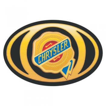 Chrysler logo Light Iron On Stickers (Heat Transfers) version 1