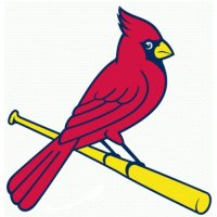 St. Louis Cardinals Alternate Logo  Light Iron-on Stickers (Heat Transfers) version 1