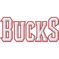 Milwaukee Bucks Script Logo  Light Iron-on Stickers (Heat Transfers) version 3