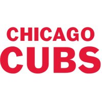 Chicago Cubs Script Logo  Light Iron-on Stickers (Heat Transfers)
