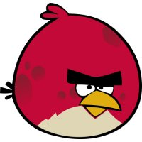 Big Brother Bird-Angry Birds Light Iron On Stickers (Heat Transfers)