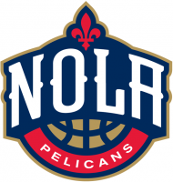 New Orleans Pelicans 2013 14-Pres Alternate Logo Light Iron-on Stickers (Heat Transfers)