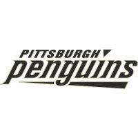 Pittsburgh Penguins Script Logo  Light Iron-on Stickers (Heat Transfers) version 1
