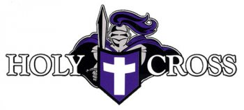 Holy Cross Crusaders 1993-Pres Primary Logo Light Iron-on Stickers (Heat Transfers)