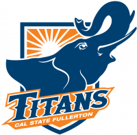 Cal State Fullerton Titans 2009-Pres Alternate Logo Light Iron-on Stickers (Heat Transfers)