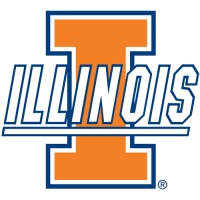 Illinois Fighting Illini 2004-Pres Primary Logo Light Iron-on Stickers (Heat Transfers)