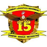 Combat Logistics Regiment 15 logo