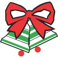 Christmas gifts light-colored apparel iron on stickers version 2
